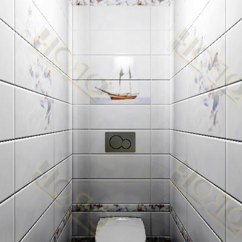 Дизайн туалета 150 на 80